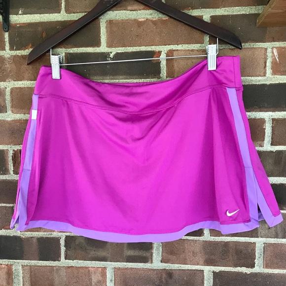 NWOT Nike tennis skirt built in shorts
